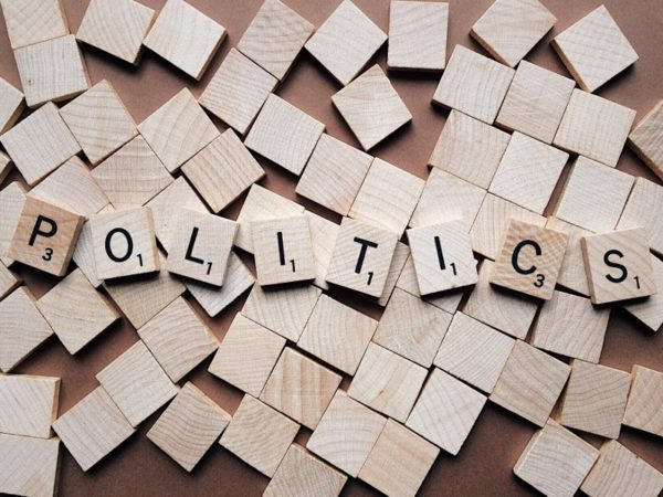 Politics Letter Blocks